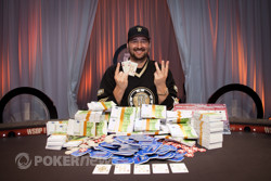 Phil Hellmuth wins the WSOPE Main Event!