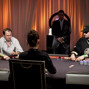 Heads up play between Sergii Baranov and Phil Hellmuth