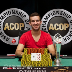 2012 ACOP Warm-Up champion Jeff Rossiter