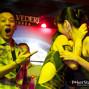 Orange passing between Celina Lin and Vivian Im