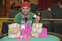 Adam Teasdale - WSOP Circuit Harrah's Resort Atlantic City Main Event Champion