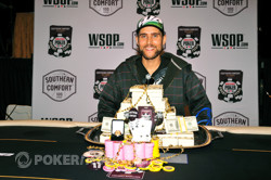WSOP Circuit Harrah's Rincon champ Jonathan Chehanske. Photo courtesy of WSOP.