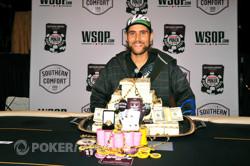 WSOP Circuit Harrah's Rincon champ Jonathan Chehanske. Photo courtesy of WSOP.