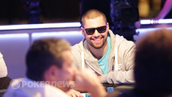 David Sands - Massive chip leader