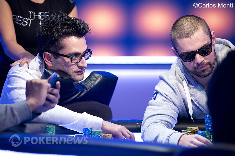 Antonio Esfandiari and David Sands