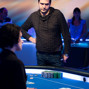 Dimitar Danchev awaits the river card of the final hand