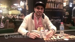 Anthony Hachem Wins $600 No-Limit Hold'em Cubed Event