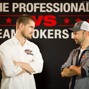 Gus Hansen and Daniel Negreanu