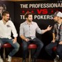 Gus Hansen, Joe Stapleton, and Daniel Negreanu
