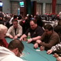 Greg Raymer in action on Day 1a of the WSOP Circuit Foxwoods.