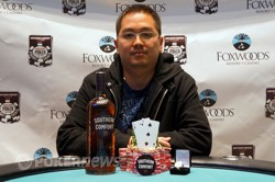 Aditya Prasetyo won Foxwoods Event #7 $365 NLHE. Photo courtesy of WSOP.