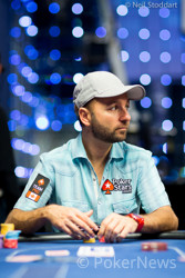 Negreanu's Turn To Hit a Nine as He Busts Cheong