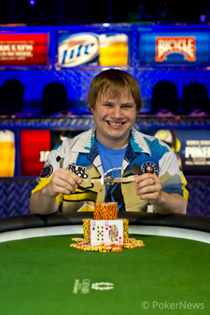 Chad Holloway is the first WSOP champion of 2013.