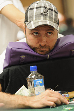 Cooler Busts Negreanu
