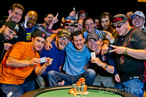 WSOP Gold Bracelet Winner Matt Waxman and friends.
