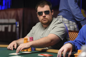 Eric Crain swept up one of the biggest pots yet.