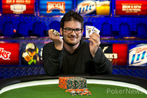WSOP Event 11 Gold Bracelet Winner Levi Berger