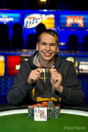 2013 WSOP Event 21 Gold Braclet Winner Martin Finger