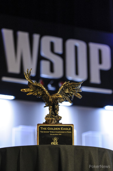 The Golden Eagle Trophy for the Seniors Championship Event