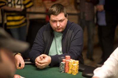 Chip Leader Dimitar Yosifov