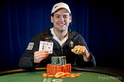 2013 WSOP Gold Bracelet Winner Jarred Graham