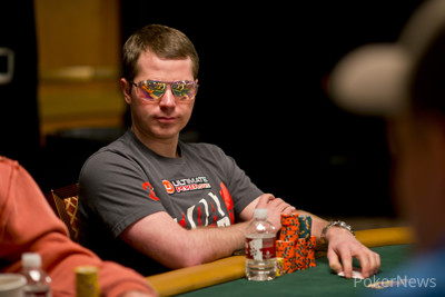 Jonathan Little Has Held the Chip Lead After Both Days of Play Here in Event #32 ($5,000 No-Limit Hold'em Six Handed)