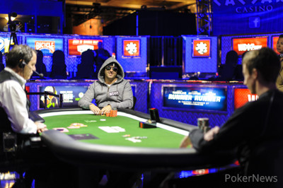 Final Table:  Justin Oliver vs. Nick Schwarmann