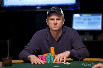 Ashly Butler nearly lost his stack.