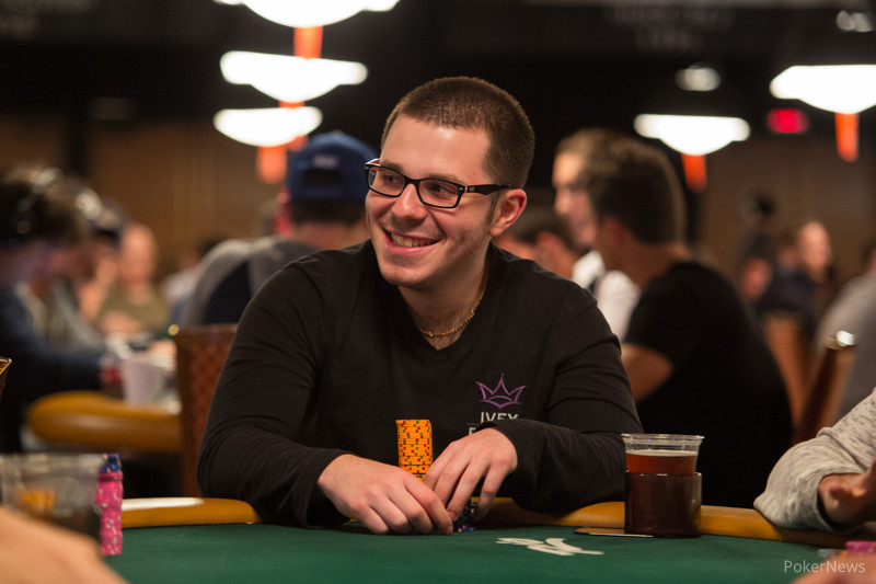 Smith during the 2013 WSOP