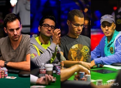 Chris Klodnicki, Antonio Esfandiari, Anthony Gregg, Bill Perkins