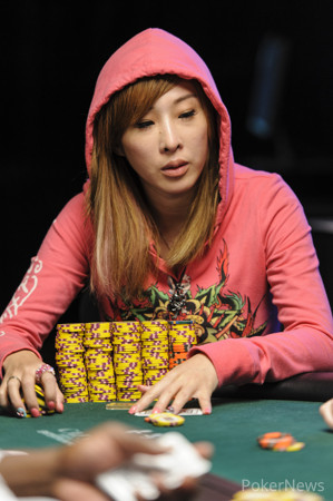 Kitty Kuo Eliminated in 17th Place ($23,760)