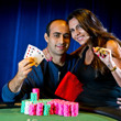 2013 WSOP Event 61 Gold Bracelet Winner Daniel Alaei & wife, Ara.