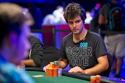 Last Break of Day 3: Max Steinberg Eliminates Phil Ivey, Takes Chip Lead