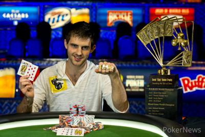 2013 WSOP Poker Players Championship Winner Matthew Ashton