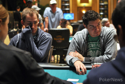Hinkle and Bonomo Lead Final Table