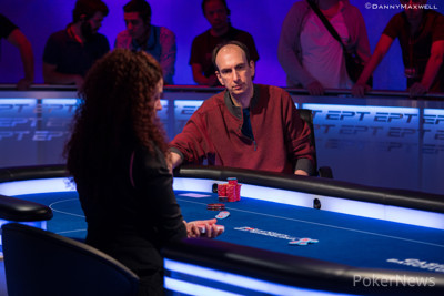 Erik Seidel Eliminated in 2nd Place (€557,100)
