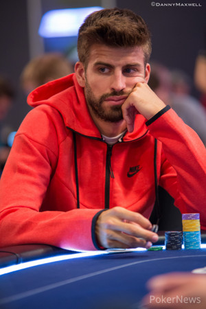 Gerard Piqué Headlines Those Entering Day 2; Ole Schemion Leads