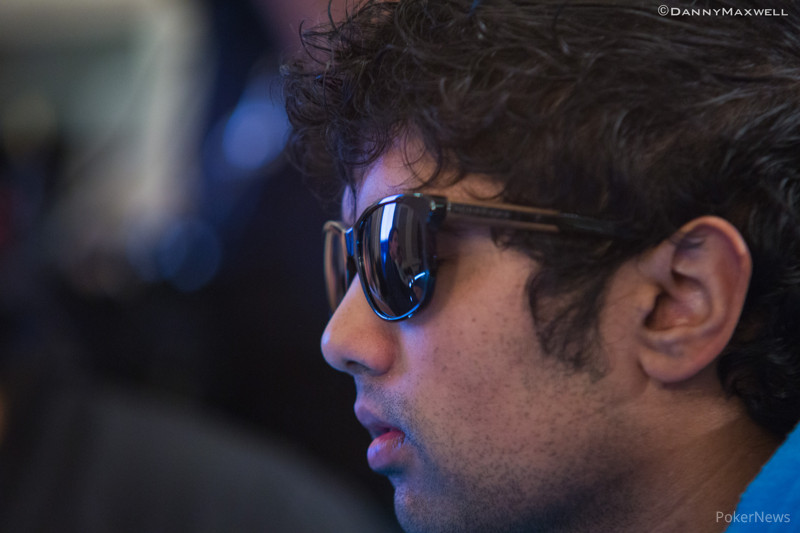 Pratyush Buddiga in the EPT London Main Event