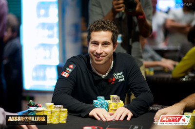 Rossiter Busts Duhamel in 25th Place