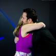 Victoria Coren hugs EPT TD Toby Stone