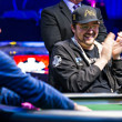 Ted Forrest and Phil Hellmuth heads up.
