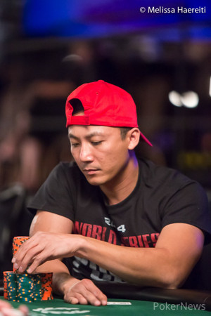 Danny Nguyen tried a big bluff.