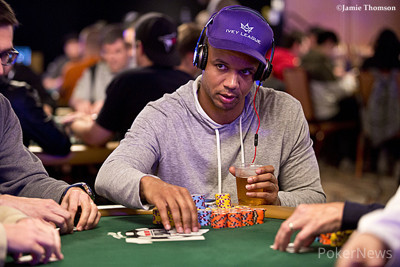 Phil Ivey Advances to Day 3 as Overall Chip Leader; Hellmuth, Cada and Hachem Fall