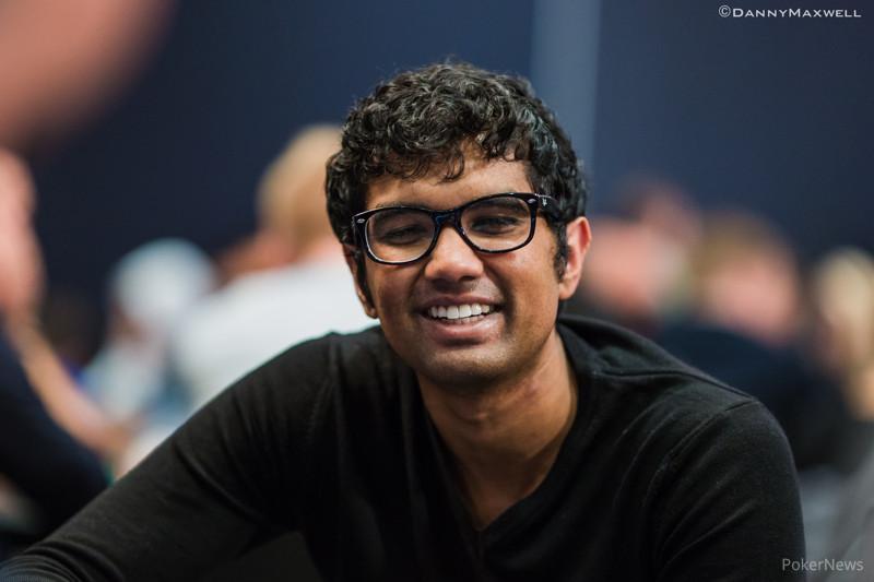 Pratyush Buddiga during the EPT Barcelona Super High Roller