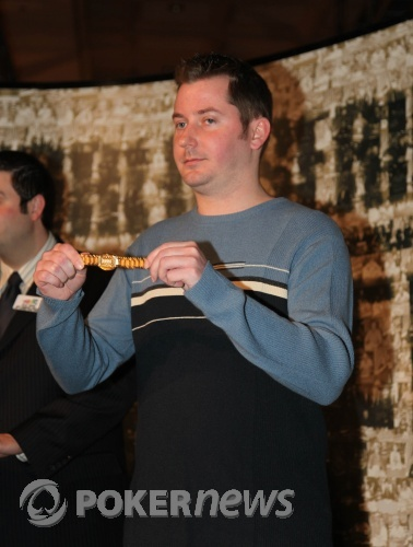 Jordan Smith with his WSOP bracelet