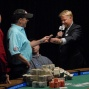 Blair Rodman Receives his WSOP Bracelet from Nollan Dalla