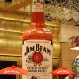 Giant Jim Beam Bottle