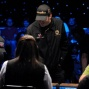 Phil Hellmuth Does Chip Count
