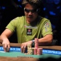 Tuan lam stacking chips after doubling through Rahme