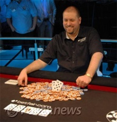 Thomas Bihl, first-ever overseas bracelet winner